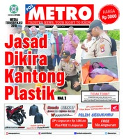Cover POSMETRO 19 November 2018