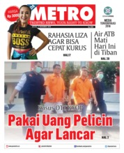 Cover POSMETRO 04 Desember 2018