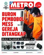 Cover POSMETRO 05 Desember 2018