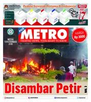 Cover POSMETRO 08 Desember 2018