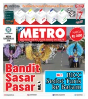 Cover POSMETRO 10 Desember 2018