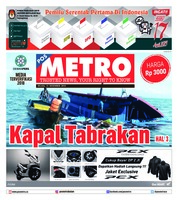 Cover POSMETRO 11 Desember 2018