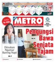 Cover POSMETRO 14 Desember 2018