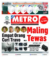 Cover POSMETRO 15 Desember 2018