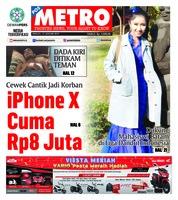 Cover POSMETRO 13 Januari 2019