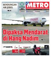 Cover POSMETRO 15 Januari 2019