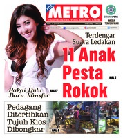 Cover POSMETRO 16 Januari 2019