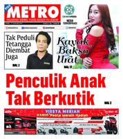 Cover POSMETRO 17 Januari 2019