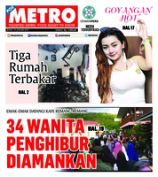 Cover POSMETRO 18 Januari 2019