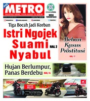 Cover POSMETRO 21 Januari 2019