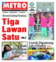 Cover POSMETRO 22 Januari 2019