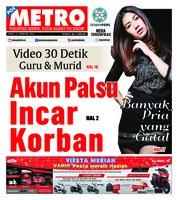 Cover POSMETRO 11 Februari 2019