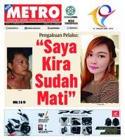 Cover POSMETRO 13 Februari 2019