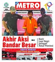 Cover POSMETRO 15 Februari 2019