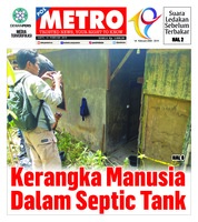 Cover POSMETRO 16 Februari 2019
