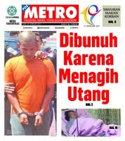 Cover POSMETRO 20 Februari 2019