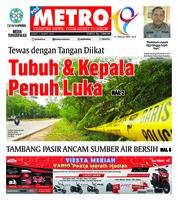 Cover POSMETRO 01 Maret 2019