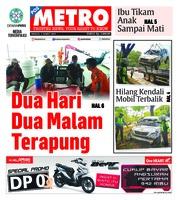 Cover POSMETRO 03 Maret 2019