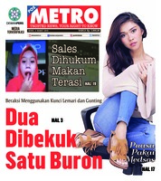 Cover POSMETRO 04 Maret 2019