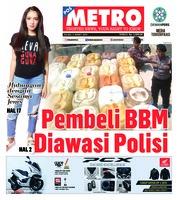 Cover POSMETRO 05 Maret 2019