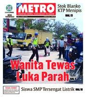 Cover POSMETRO 06 Maret 2019