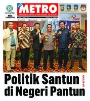 Cover POSMETRO 08 Maret 2019