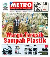 Cover POSMETRO 10 Maret 2019