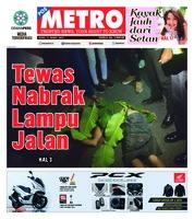 Cover POSMETRO 11 Maret 2019