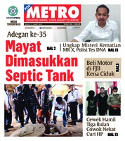 Cover POSMETRO 12 Maret 2019