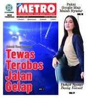 Cover POSMETRO 14 Maret 2019