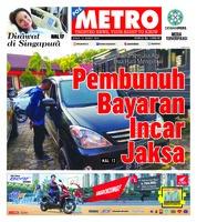 Cover POSMETRO 15 Maret 2019