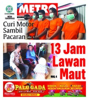 Cover POSMETRO 16 Maret 2019