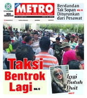 Cover POSMETRO 18 Maret 2019