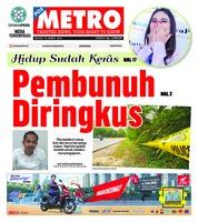 Cover POSMETRO 19 Maret 2019