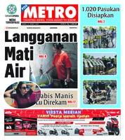 Cover POSMETRO 21 Maret 2019