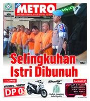 Cover POSMETRO 23 Maret 2019
