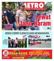 Cover POSMETRO 24 Maret 2019