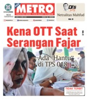 Cover POSMETRO 18 April 2019