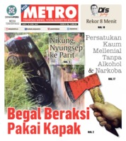 Cover POSMETRO 20 April 2019
