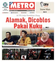 Cover POSMETRO 21 April 2019