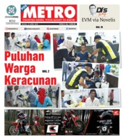 Cover POSMETRO 23 April 2019