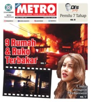Cover POSMETRO 24 April 2019