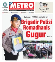 Cover POSMETRO 26 April 2019