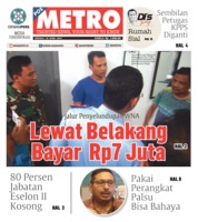 Cover POSMETRO 28 April 2019