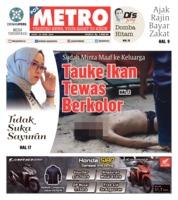 Cover POSMETRO 29 April 2019