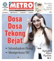 Cover POSMETRO 04 Mei 2019