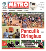 Cover POSMETRO 05 Mei 2019