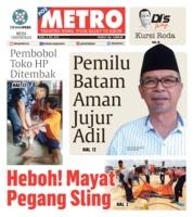 Cover POSMETRO 08 Mei 2019