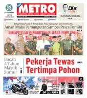 Cover POSMETRO 09 Mei 2019