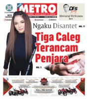 Cover POSMETRO 11 Mei 2019